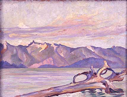 Coast Range B.C.&nbsp;Oil on Board 17&quot; x 13&quot;, 1928<br/>Private Collection, Vancouver, Canada