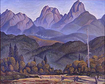 "Untitled Oil on Canvas 11.25"" x 14.25"", 1940"