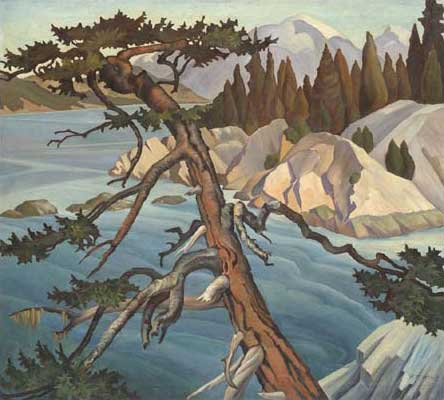 Whytecliffe&nbsp;Oil on Canvas 36.25&quot; x 40&quot;, 1934<br/>Mrs. P.G. Dobson, In memory of her sister, Margaret A. Williams&nbsp;Photos &copy; Vancouver Art Gallery (Photo&#58; Teresa Healy) VAG 81.2