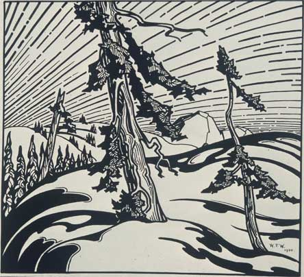 "The Summit Pen & Ink over Graphite on Wove Paper 21.75"" x 26.25"", 1930 Photos © National Gallery of Canada"